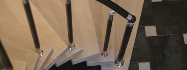 Лестницы с подвесными ступенями