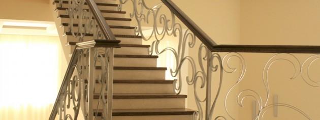 Лестницы маршевые монолитные